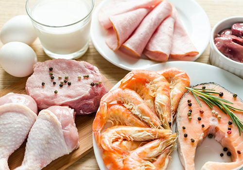 lista com os melhores alimentos para ganhar massa muscular magra e perder gordura