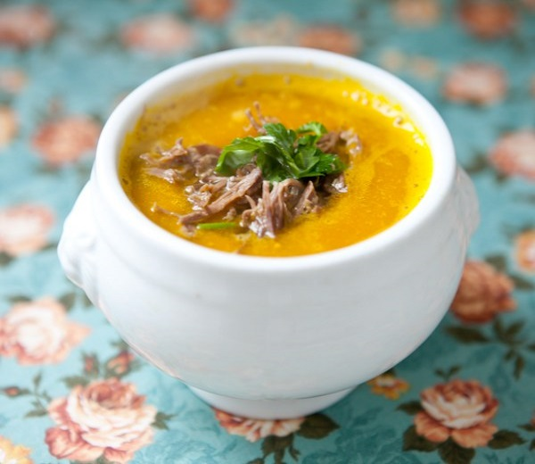creme de abobora gengibre sopa dieta
