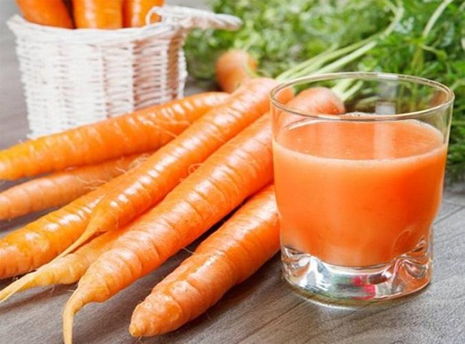 suco de cenoura puro para emagrecer